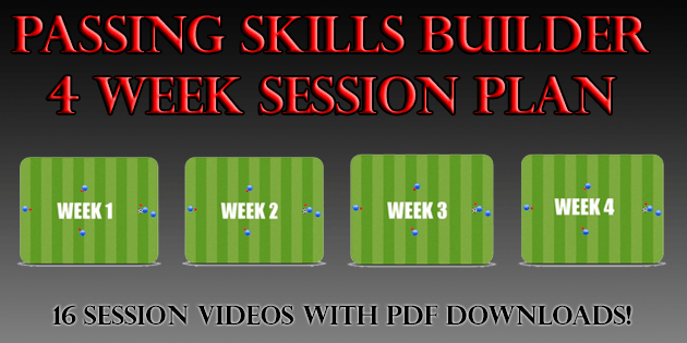 soccer sessions passing skills builder four week soccer session plan