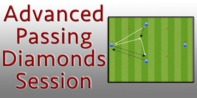 Advanced Soccer Passing Diamond Sessions