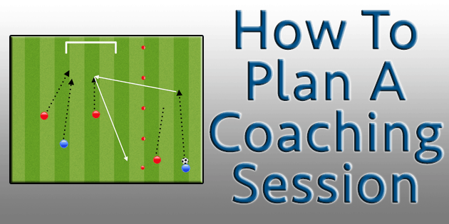 how to plan a soccer session drill
