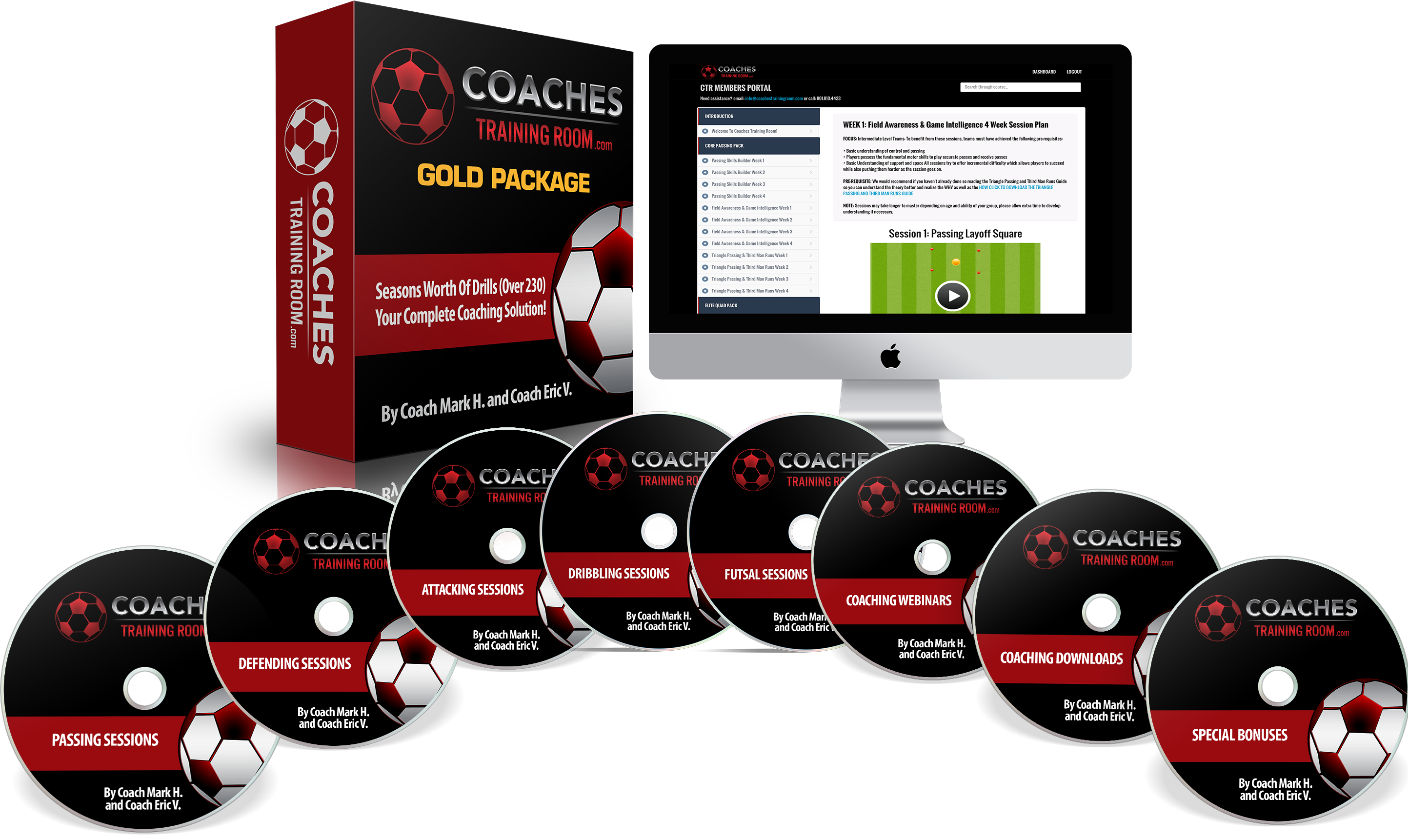 Coaches Training Room Gold Session Pack