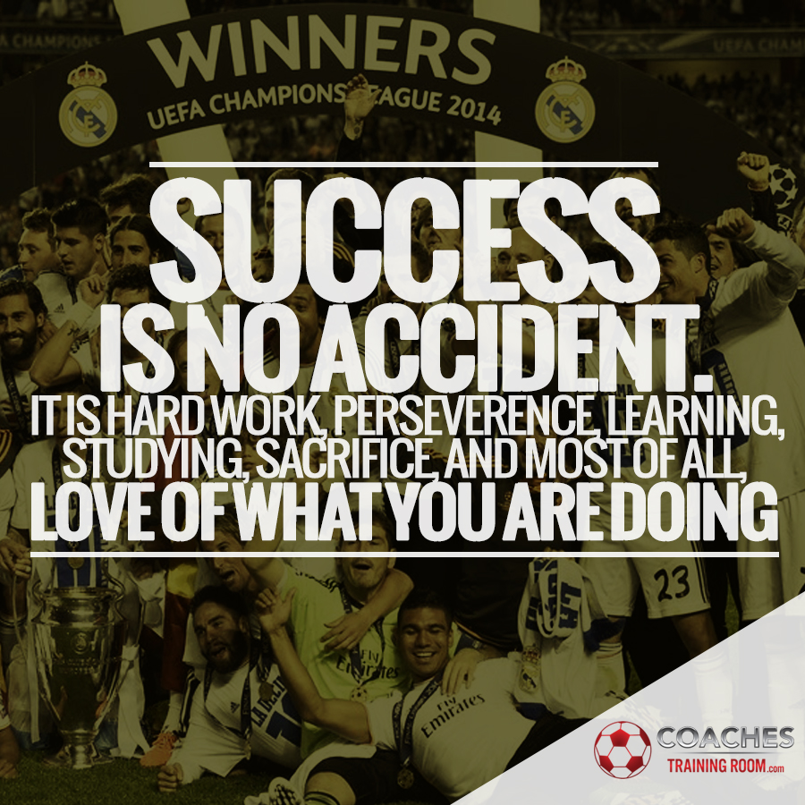 Inspirational Soccer Quotes And Sayings: Soccer Coaching Motivational Quotes Sayings