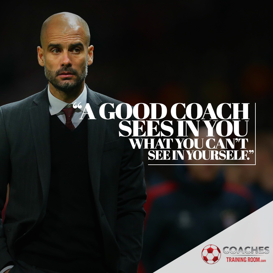 Soccer Coaching Quote Pep Guardiola
