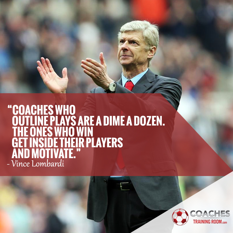 Soccer Coaching Training Sessions Arsene Wenger