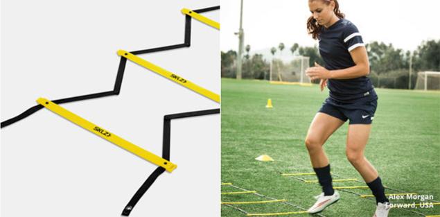 fast feet agility ladder ladders pro footwork speed sklz