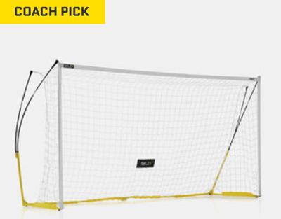 pro training soccer goal sklz 18 x 7 6 net full size