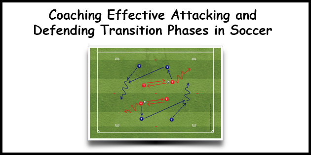 Coaching Effective Attacking and Defending Transition Phases in Soccer