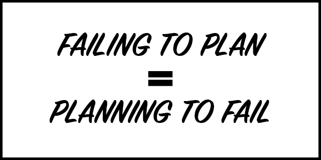 Failing To Plan Is Planning To Fail - Planning A Season Plan As A Soccer Coach