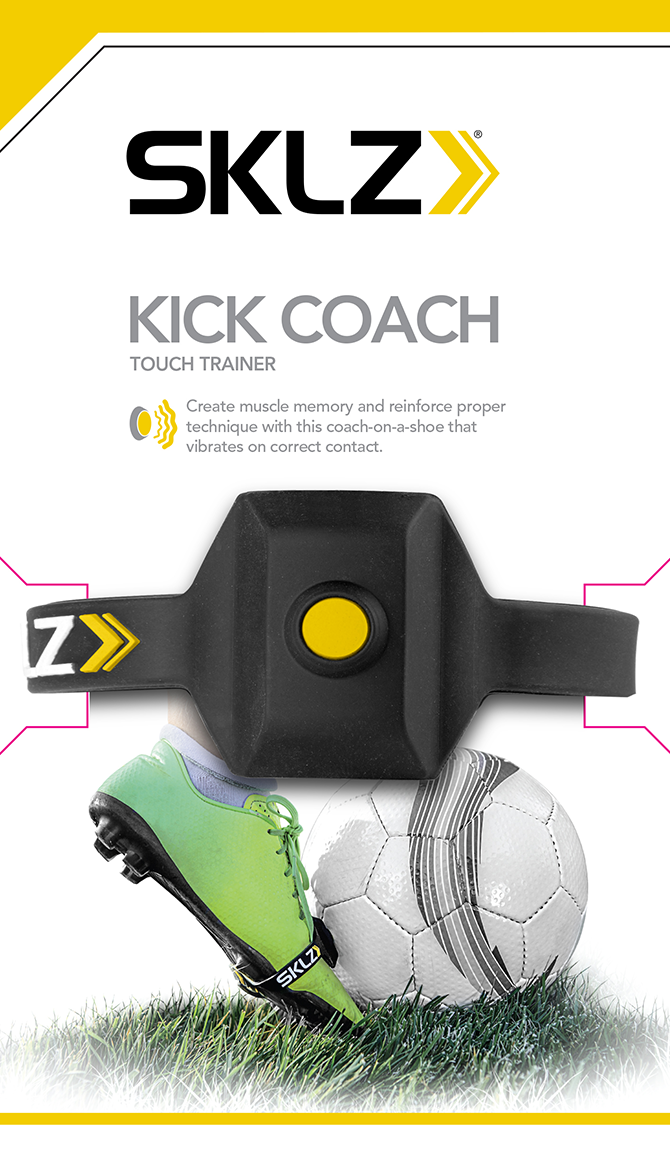 sklz kick coach touch trainer soccer practice training foot strap